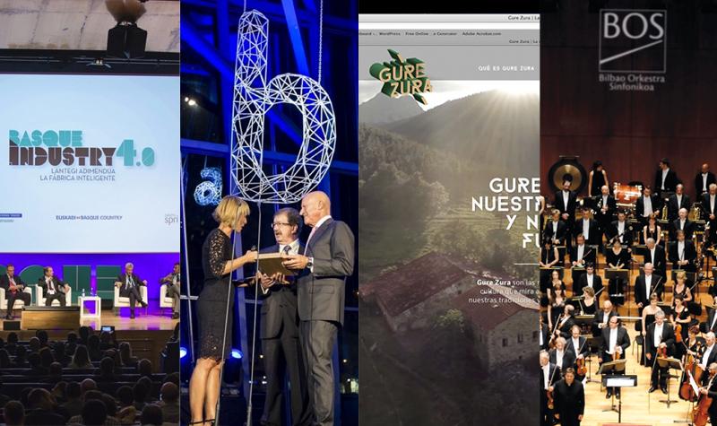 Creando marcas e imagen corporativa: BIA, Gure Zura, Basque Industry 4.0 y BOS