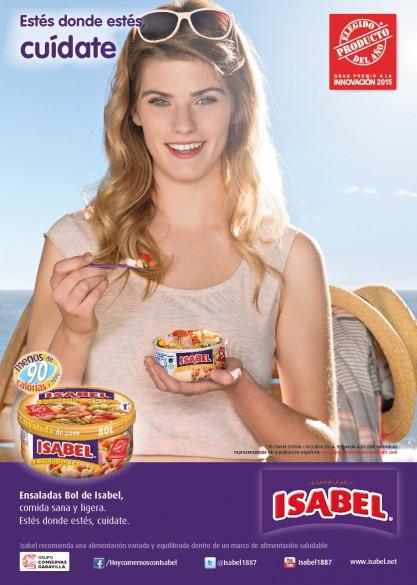 Campaña conservas Isabel