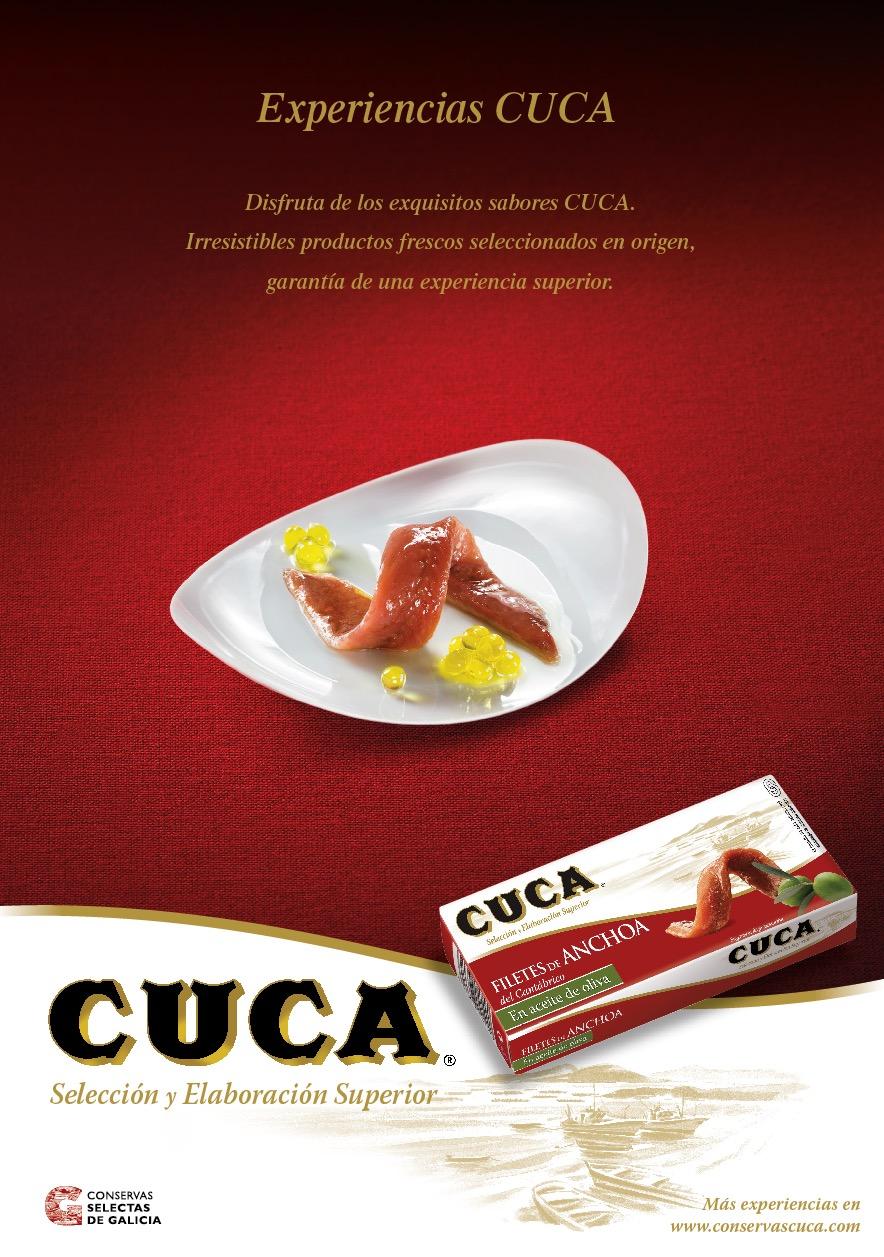 Campaña Anchoa Conservas Cuca