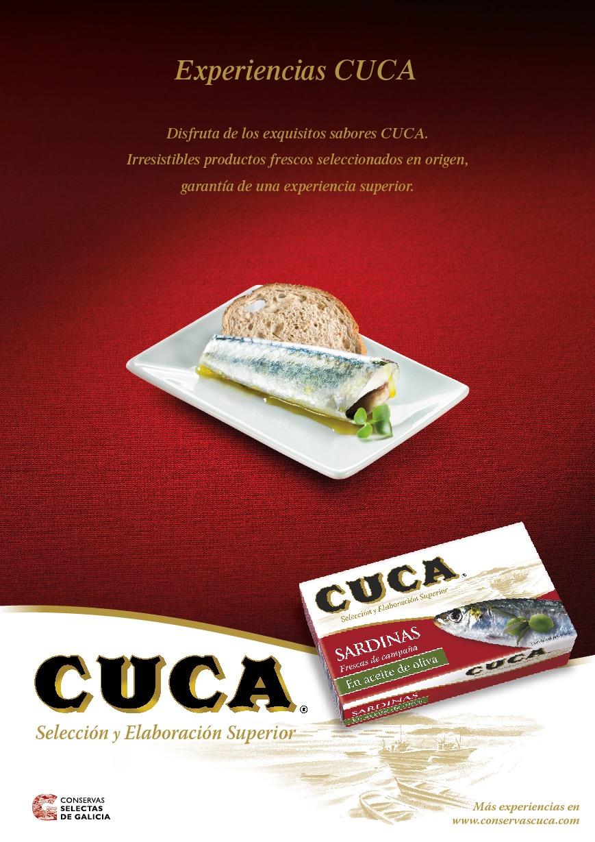 Campaña sardina oliva Conservas Cuca