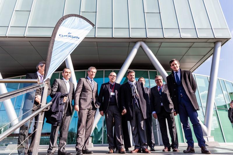 Trupp inaugura en Irun la nueva sede de Emerson Industrial Automation para la península ibérica