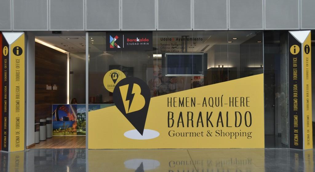 Oficina de Turismo de Barakaldo en el BEC