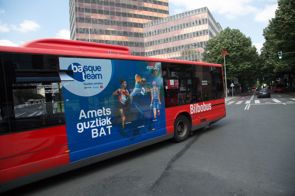 Basque Team en Bilbobus