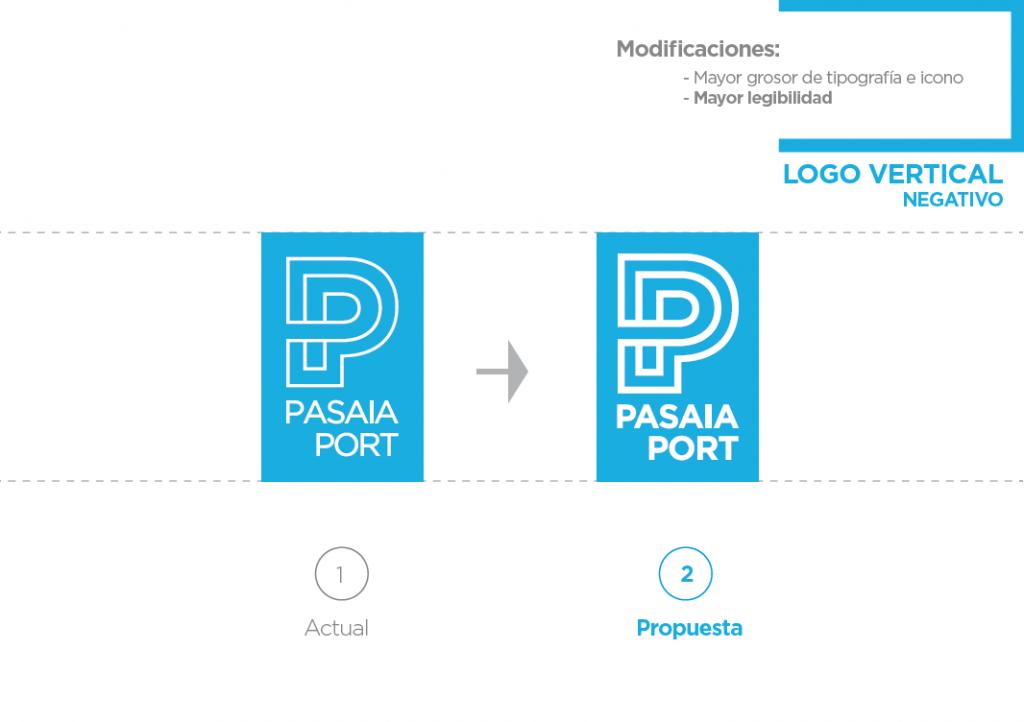 Pasaia Port - Nuevo logo