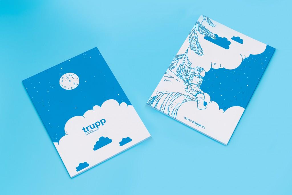 cuaderno trupp 2018 astronauta