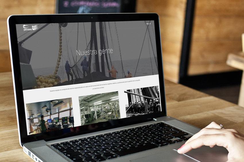 Botamos al nueva web de Pevasa